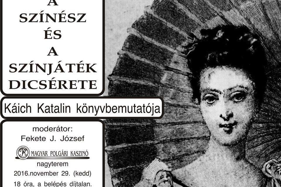 """<span class=""""entry-title-primary"""">Zombor: Káich Katalin könyvbemutatója</span> <span class=""""entry-subtitle"""">Magyar Polgári Kaszinó, Zombor, 2016. november 29., Kezdés: 18.00</span>"""