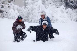 Az elmaradt hóvihar-tudósítás Washingtonból: 3 Hó-bama a hófútta Fehér Hózban