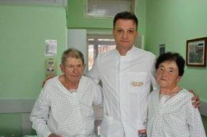 A Kovács házaspár Stamenko Šušak doktorral