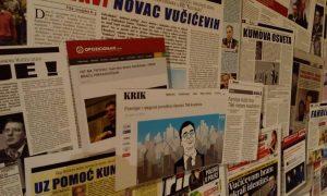 A Szabadegyetemen szüneteltetik a filmek vetítését azért, mert épp folyamatban van a Szerb Haladó Párt Cenzúrázatlan hazugságok című kiállítása
