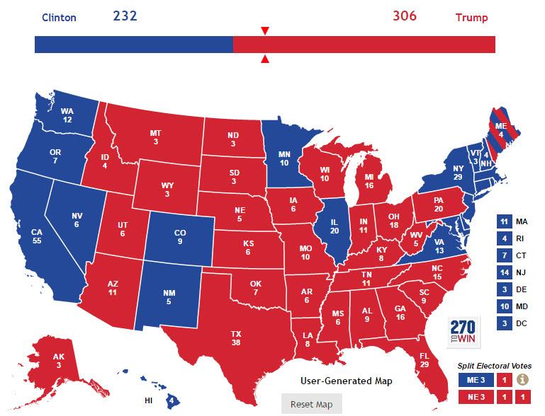USA: Trump győzelme, percről percre