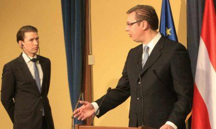 """<span class=""""entry-title-primary"""">A Balkánon még mindig feszültségekkel kell szembenézni</span> <span class=""""entry-subtitle"""">Belgrádban fogadta Aleksandar Vučić kormányfő Sebastian Kurz osztrák külügyminisztert</span>"""