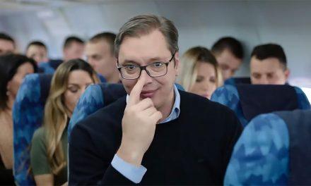 Szinte ingyen volt Vučićnak a repülőbérlés