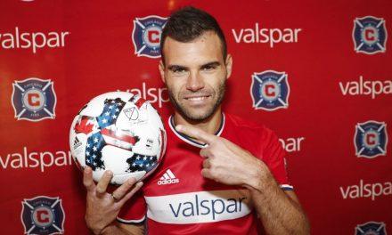 """<span class=""""entry-title-primary"""">Az első zentai gól az MLS-ben!</span> <span class=""""entry-subtitle"""">Nemanja Nikolić a 11. percben volt eredményes </span>"""