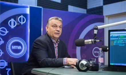 """Orbán: A kormányközi tárgyalásoktól függ a """"Soros-egyetem"""" jövője"""