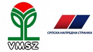"""<span class=""""entry-title-primary"""">A VMSZ beolvad a Szerb Haladó Pártba?</span> <span class=""""entry-subtitle"""">Egyelőre csak jelek utalnak erre, azok viszont egyértelműek</span>"""