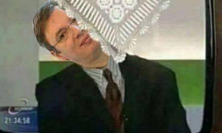 Ha nem akarjuk, hogy a rajzfilmből is Vučić ugorjon elő