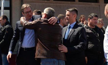 Vučić szerint még egy kicsi és jön a jobb élet