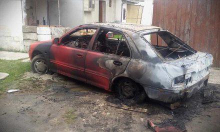 Rendőrség: Az autó magától gyulladt ki Hódságon