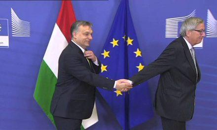 """<span class=""""entry-title-primary"""">Megállítanák, de nem lehet…</span> <span class=""""entry-subtitle"""">Juncker: A Nemzeti Konzultáció kérdőíve többet árul el a szerzőjéről, mint az Európai Unió állapotáról</span>"""