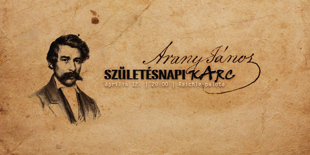 """<span class=""""entry-title-primary"""">Születésnapi kArc Arany Jánossal</span> <span class=""""entry-subtitle"""">Szabadka, Raichle-palota, április 12. – Kezdés: 20,00</span>"""