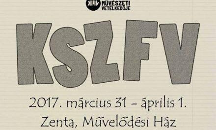 KSZFV: Színdarabban a szabadkaiak, filmben a zentaiak a legjobbak