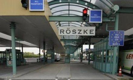 Magyar határrendészeket vettek őrizetbe Röszkén