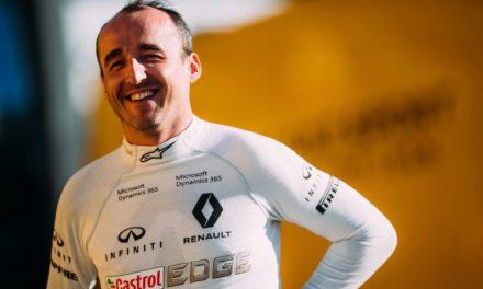 Kubica ismét F1-es autóban