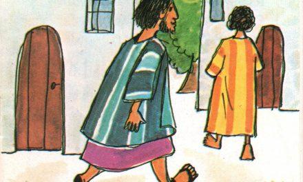 """<span class=""""entry-title-primary"""">Jézus gyógyít</span> <span class=""""entry-subtitle"""">Takács Ilona verse – Dea de Vries rajzaival</span>"""