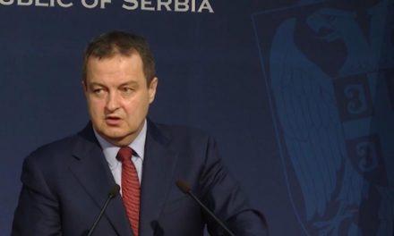 Dačić a sztrájkolóknak: Ha nem álltok le, nem jönnek a beruházók