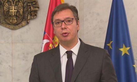 Vučić: Bizonyítékaink vannak a Szerbia elleni ténykedésre