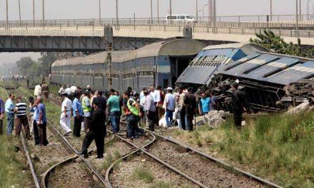 Vonatbaleset Egyiptomban, 36 halott