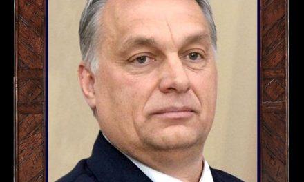 A nap twittje: Orbán Viktor képe a kávézók falán