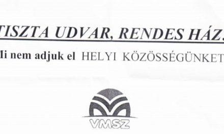 VMSZ: Mi nem adjuk el a helyi közösségünket!