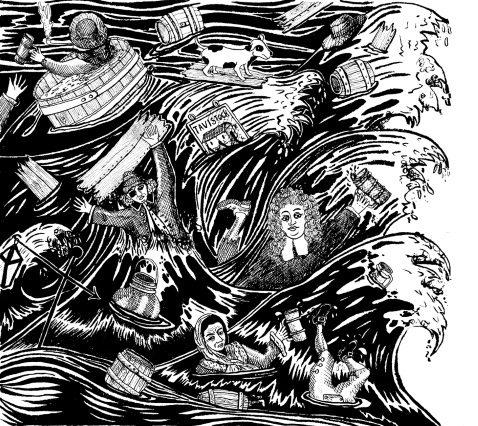 Modern grafika a söráradatról (Grafika: Historic UK)