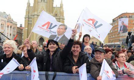 EBESZ: Elfogult média és Vučić túlsúlya az elnökválasztási kampányban