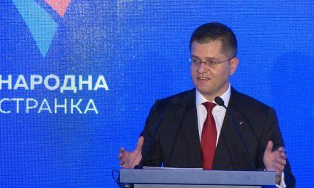 Vuk Jeremić pártja is Đilas mellett