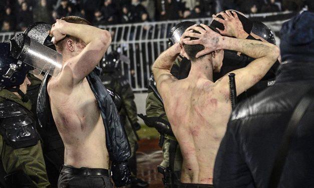 Horvát állampolgárok kezdték a tömegverekedést a belgrádi örökrangadón (GALÉRIA és VIDEÓ)