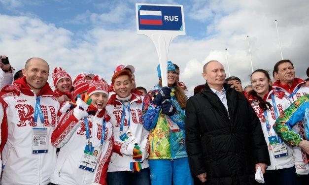 Zászló nélkül versenyeznek az orosz sportolók a téli olimpián