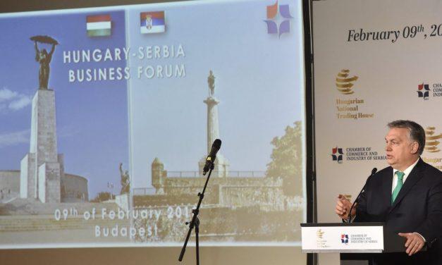 Orbán: Magyarország azon lesz, hogy felgyorsítsa Szerbia uniós csatlakozását