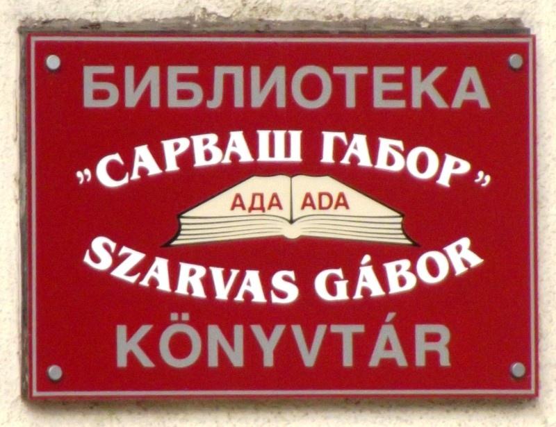 Már nem Csonka Áron az adai könyvtár igazgatója
