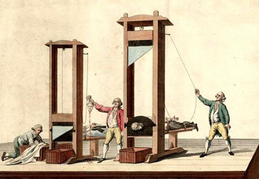 A guillotine halott – Szabad Magyar Szó