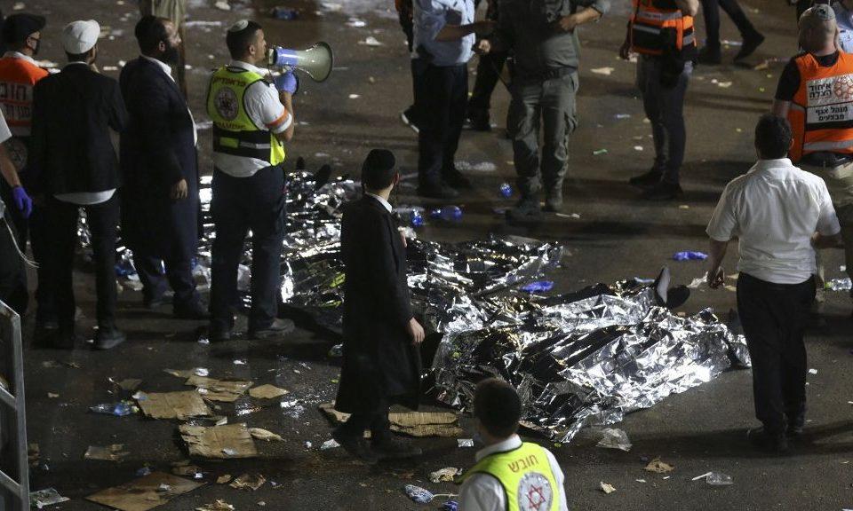 Több tucat halott egy izraeli vallási fesztiválon
